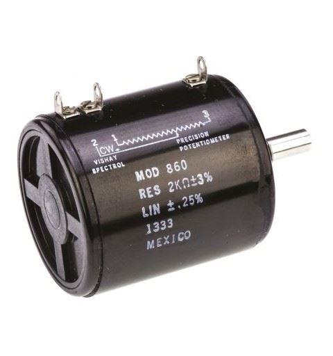 Vishay Spectrol 860B1201 Precision Potentiometer 200ohm