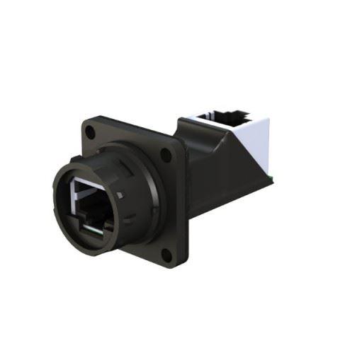 EMO Systems Emosafe EN-10VG Medical Ethernet Isolator RJ45 for panel EN60601