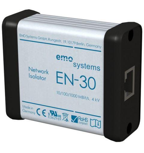 EMO Systems Emosafe EN-30 Medical Ethernet Isolator RJ45 Enclosed