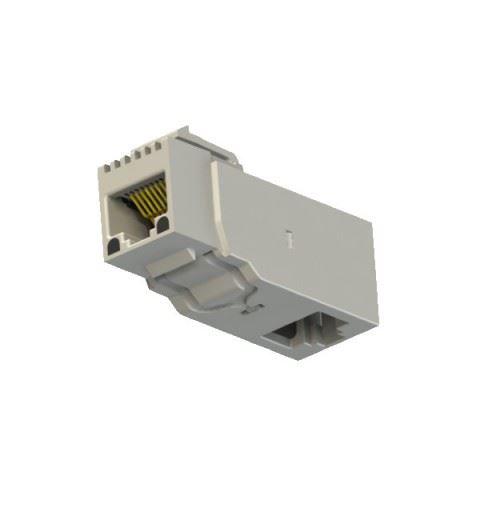 EMO Systems Emosafe EN-70VD-K Medical Ethernet Isolator RJ45 90 ° Keystone