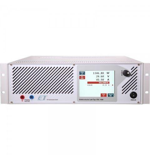 ET Instrumente ESL-750-USB-V500 DC Electronic Load Vin:1-500Vdc Iin:7,5A 750watt