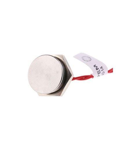 APEM PBAT5AFB000 Piezo Flat Button 16mm Stainless steel