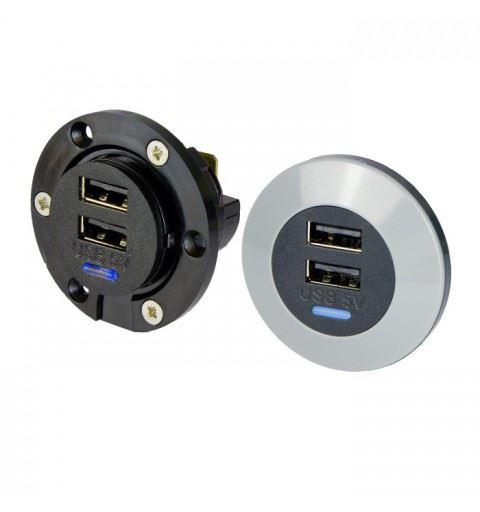 Alfatronix PVPro-DFf Dual USB power supply Vin 12-24V Vout 5Vdc 3A (2x1.5A)