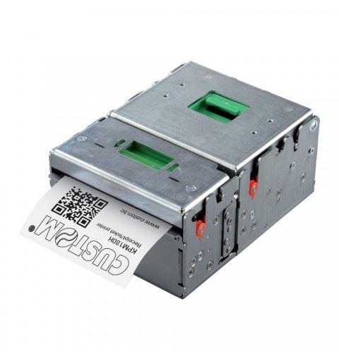 Custom KPM180H Stampante Kiosk  RS232/USB ETH USB cutter + presenter