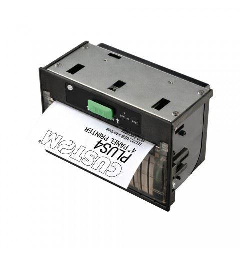 "Custom PLUS4 Stampante da pannello 4"" TTL/ USB/ RS232 5-8Vdc"