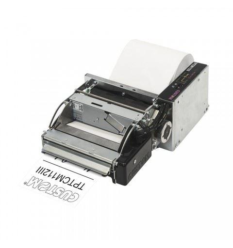 Custom TPTCM112III Stampante Kiosk USB/ RS232 Cutter e Notch