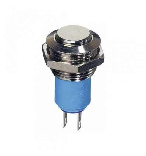 APEM AV1611A200K Vandalproof Switch 16mm On / Off Solder Curved actuator IP65