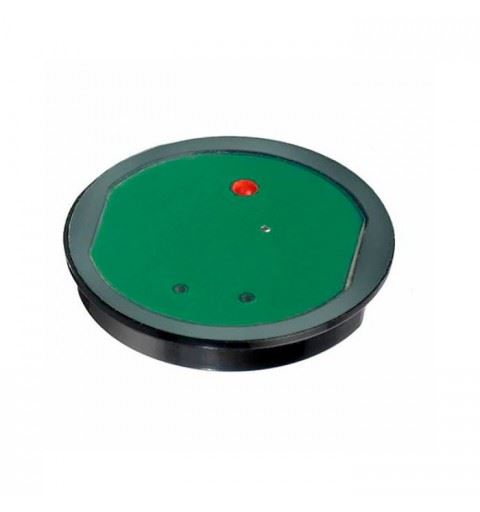APEM CG211AJ0RC Capacitive button with 24Vdc adhesive, red led on-off contact