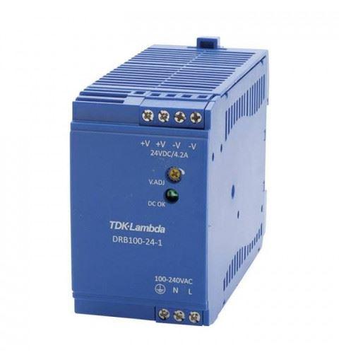 TDK-Lambda DRB100-24-1 Power Supply Din Rail  100W 24Vdc
