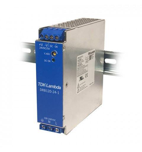 TDK-Lambda DRB120-24-1 Power Supply Din Rail 120W 24Vdc