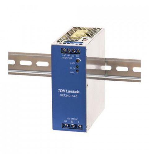 TDK-Lambda DRB240-24-1 Power Supply Din Rail 240W 24Vdc