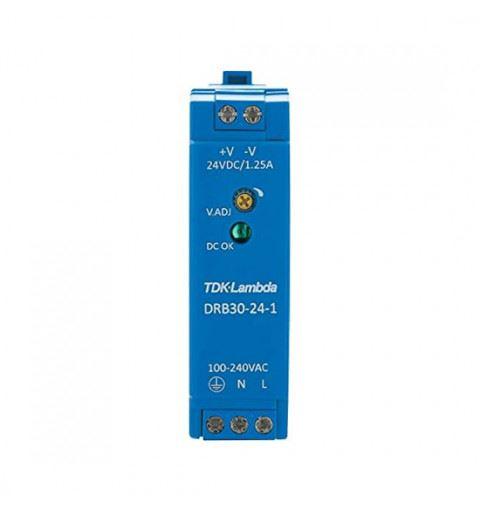 TDK-Lambda DRB30-24-1 Power Supply Din Rail 30W 24Vdc