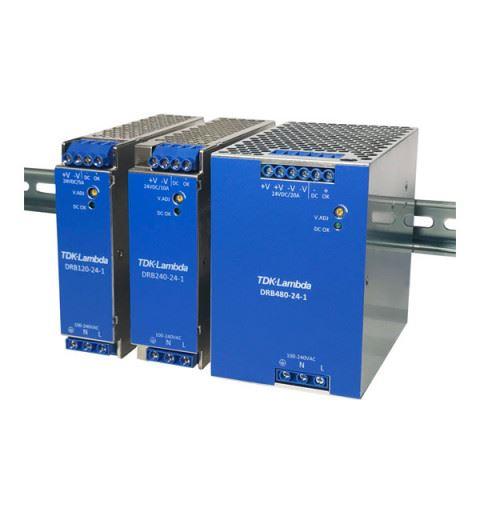 TDK-Lambda DRB480-24-1 Power Supply Din Rail 480W 24Vdc