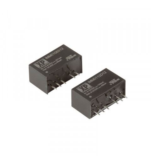 XP Power IMM0105D12 DC/DC Converter Medical PCB 1W Vin.4,5 to 9Vdc Vout.12Vdc-12Vdc