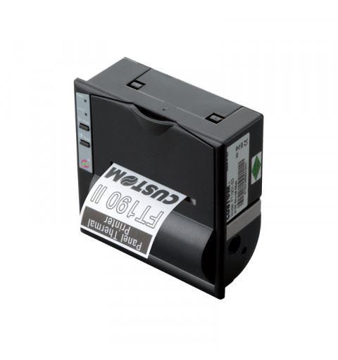 Custom FT190II-S3-0005 Thermal Printer RS232 Panel RTCK 9-40V
