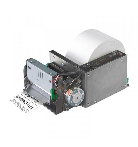 Custom TPTCM60IIIL Stampante Kiosk 60mm USB/ RS232 Etichettatrice con Spellicolatore
