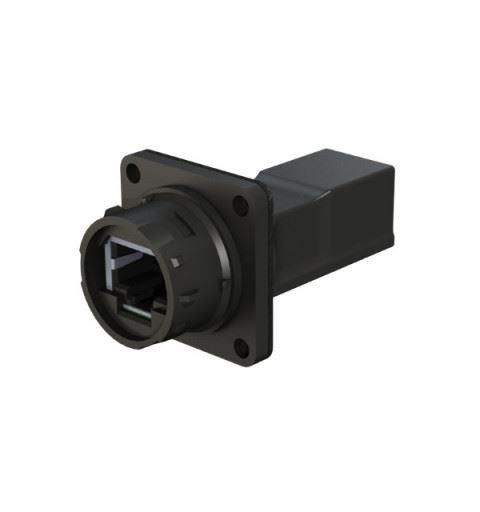 EMO Systems Emosafe EN-10HG Medical Ethernet Isolator RJ45 for panel EN60601