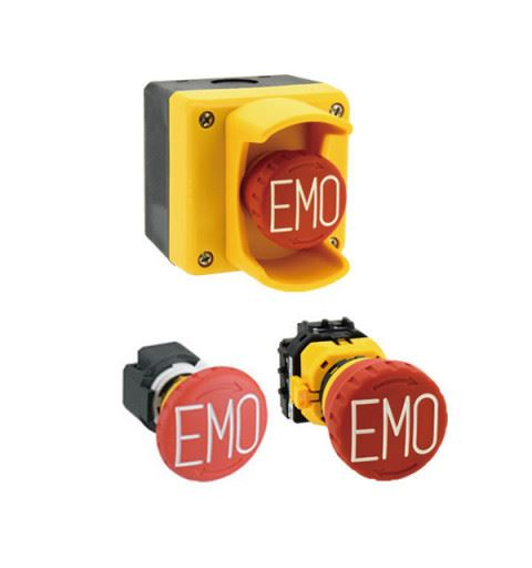 IDEC SEMI Emergency Off (EMO) Emergency buttons