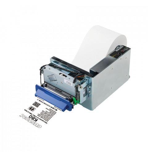 Custom K80-TORNADO PRINT Stampante Kiosk 80mm USB RS232