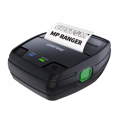 "Custom MP RANGER Mobile Receipt / Label Printer 3 ""USB Bluetooth Wifi"