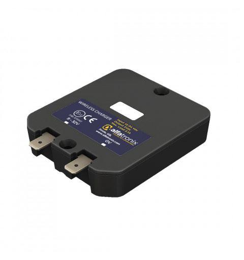Alfatronix AL1-H Caricabatterie Automotive per telefono WIRELESS 5W 12-24Vdc IP65