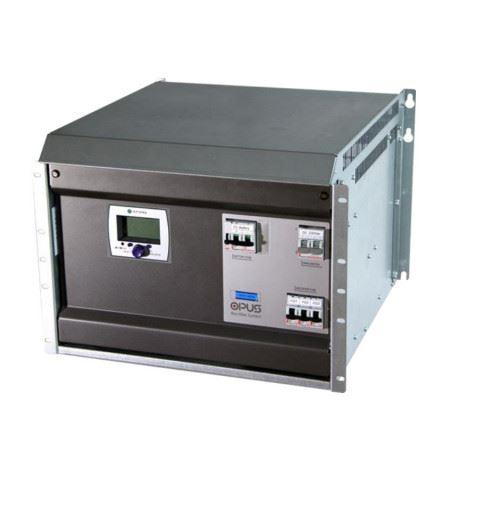 "Efore OPUS C 60 4.8 R 7U F Cabinet 7U-19"" 60Vdc up to 4.8kW with 3 MRC modules slots"