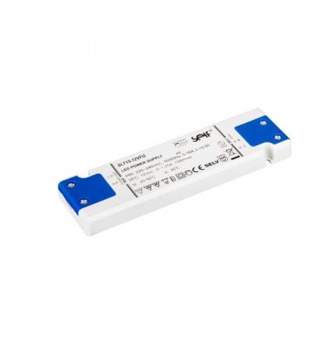 Self SLT15-12VFG Driver LED Constant Voltage 15watt 12Vdc 1,25A IP20
