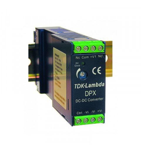 TDK-Lambda DPX40-48WD15 DC/DC Converter Din Rail Input 18-75Vdc Out -15 +15Vdc 40watt