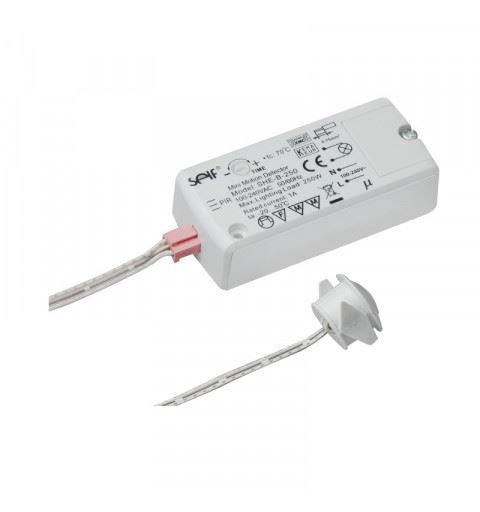 Self Electronics SHE-B-250 Sensore a infrarossi passivo PIR 100-240V 1A