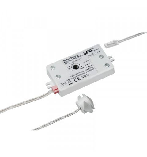 Self Electronics SHE-B-60 Sensore a infrarossi passivo PIR 12/24V 30/60W