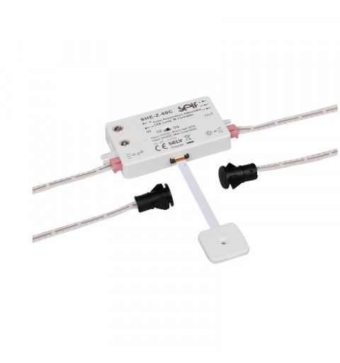 Self Electronics SHE-Z-60C(2) IR Sensor Switch tunable white 12-24Vdc 30-60W - with two sensors