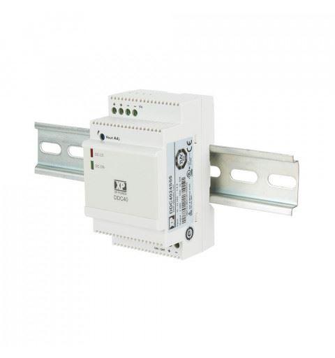 XP Power DDC4024S05 DC/DC Converter Din Rail 40watt Vin: 10-32Vdc Vout: 5Vdc Iout: 6A