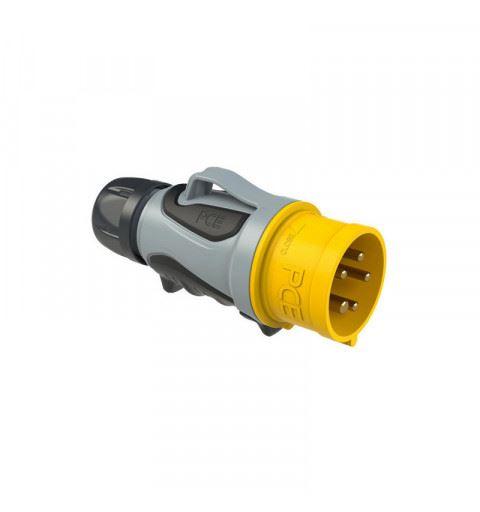 PCE 0153-4tt Flying plug 16A 5P 4h GRIP TT
