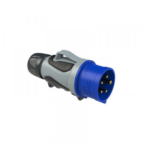 PCE 0253-9tt Plug 32A 5P 6h GRIP TT