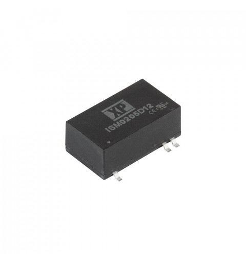 ISM0212D12 XP Power DC/DC Converter 2watt Vin: 10,8-13,2Vdc Vout: ±12Vdc Iout: ±0,083A