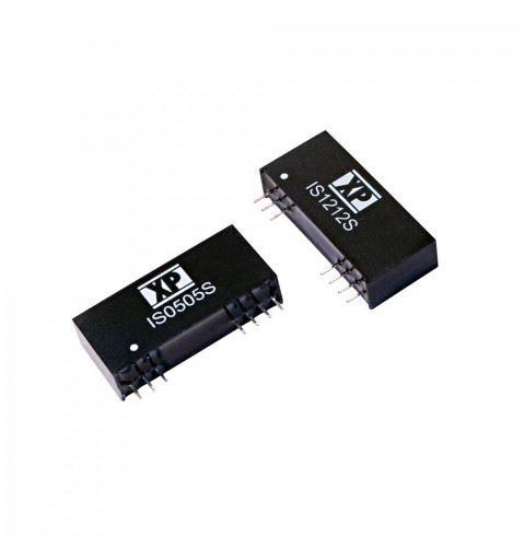 IS0512SA XP Power DC/DC Converter 3watt Vin: 4,5-5,5Vdc Vout: 12Vdc Iout: 0,25A