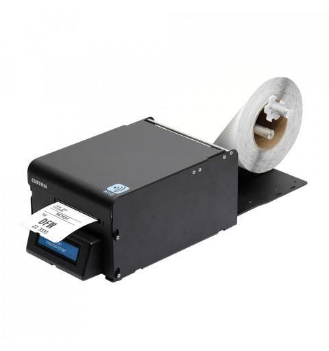 TK202III METAL Custom - Stampante per etichette bagagli e carte d'imbarco con barra di strappo