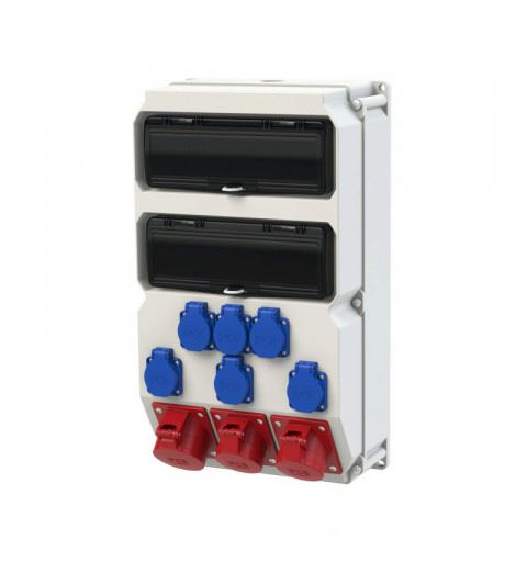 9028738 PCE Wall mounted plastic distribution box Sölden