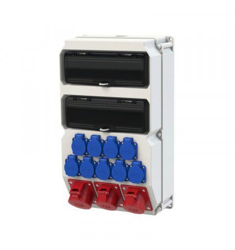 9028883 PCE Wall mounted plastic distribution box Sölden