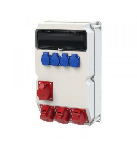 9029541 PCE Wall mounted plastic distribution box Sölden