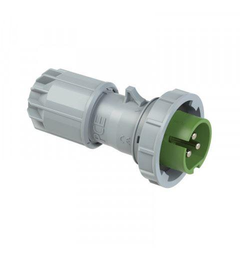 PCE 0832-2v Flying plug 16A 3P 24/42V 2h IP67 TWIST
