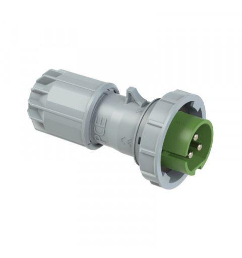 PCE 0832-3v Flying plug 16A 3P 24/42V 3h IP67 TWIST