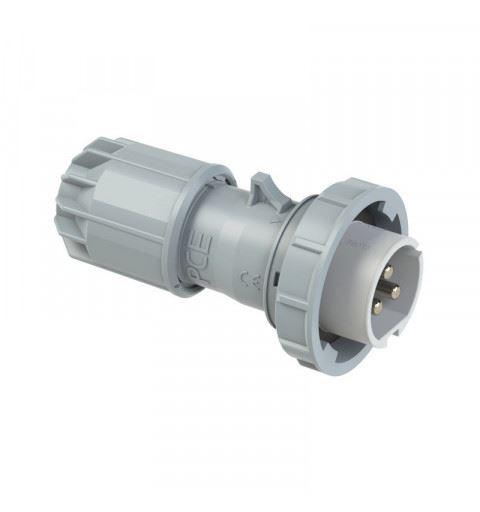 PCE 0932-10v Flying plug 32A 3P 24/42Vdc 10h IP67 TWIST