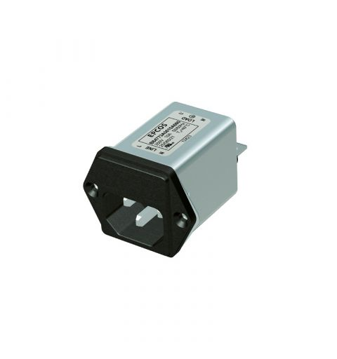 TDK Epcos B84773M0002A000 IEC Line filter module with fuse holder 2A 250V IEC 61058-1