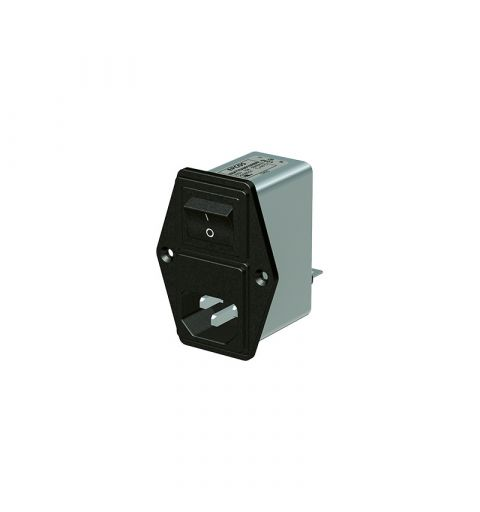 TDK Epcos B84776M0001A000 IEC Line filter module with fuse holder and switch 1A 250V IEC 61058-1