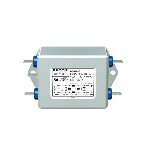 TDK Epcos B84112G0000M116 EMC Medical 16A 250V Line Filter