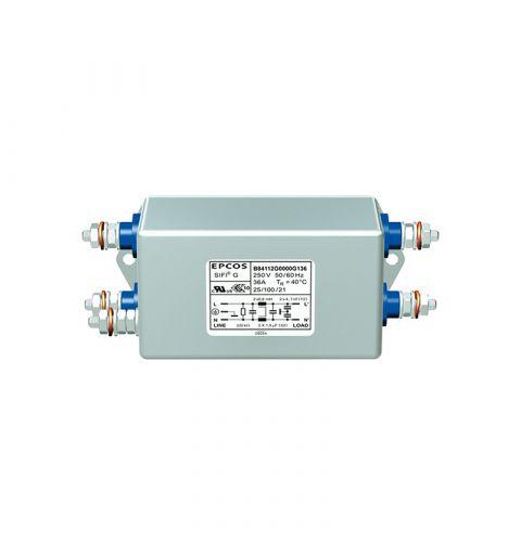 TDK Epcos B84112G0000M125 EMC Medical 25A 250V Line Filter