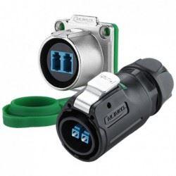 Connettori waterproof fibra ottica serie LP-24 CnLinko